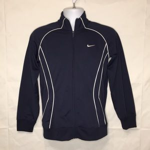 Nike Women Blue The Athletic depart jacket Zip  L